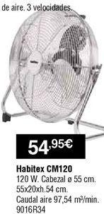 Oferta de Circulador de aire por 54,95€