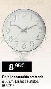 Oferta de Reloj de pared por 8,95€