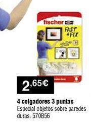 Oferta de Colgador fischer por 2,65€