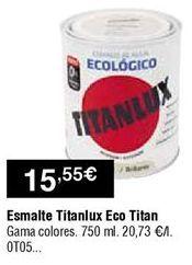 Oferta de Esmaltes Titan por 15,55€
