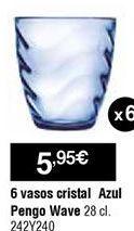Oferta de Vasos por 5,95€