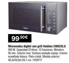 Oferta de Microondas con grill LG por 99,9€