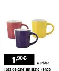 Oferta de Tazas por 1,9€