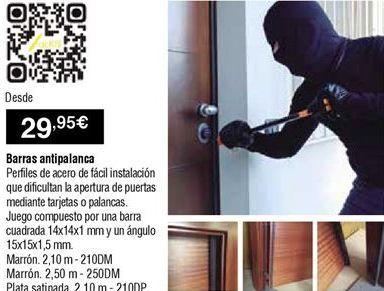 Oferta de Antirrobo por 29,95€