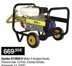 Oferta de Generador por 669,95€