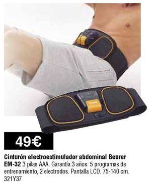 Oferta de Cinturón electromuscular Beurer por 49€