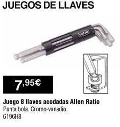Oferta de Llaves por 7,95€