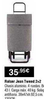 Oferta de Carro de compra por 35,95€