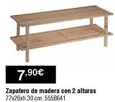 Oferta de Zapatero por 7,9€