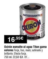 Oferta de Esmaltes Oxiron por 16,95€