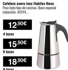 Oferta de Cafetera de acero por 12,9€