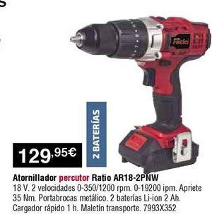 Oferta de Atornillador Ratio por 129,95€