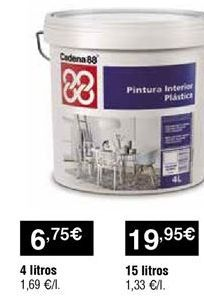 Oferta de Pintura interior por 6,75€