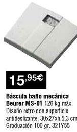 Oferta de Báscula de baño por 15,95€
