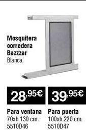 Oferta de Mosquiteras por 28,95€