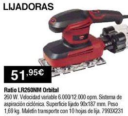 Oferta de Lijadora Ratio por 51,95€