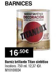 Oferta de Barniz Titan por 16,5€