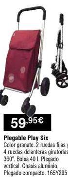 Oferta de Carro de compra por 59,95€