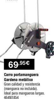 Oferta de Carro portamangueras Gardena por 69,95€