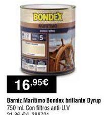 Oferta de Barniz dyrup por 16,95€