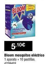 Oferta de Antimosquitos eléctrico Bloom por 5,1€