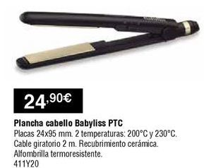Oferta de Plancha de pelo Babyliss por 24,9€