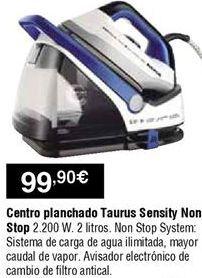 Oferta de Centro de planchado Taurus por 99,9€