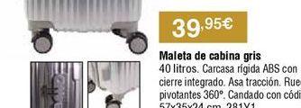 Oferta de Maletas por 39,95€