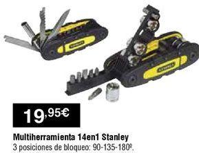 Oferta de Multiherramienta Stanley por 19,95€