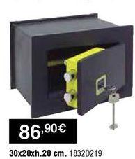 Oferta de Caja fuerte por 86,9€