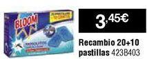 Oferta de Antimosquitos Bloom por 3,45€