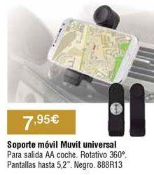 Oferta de Soporte de smartphone para coche por 7,95€