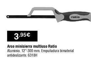 Oferta de Sierra por 3,95€