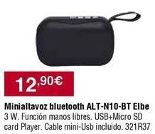 Oferta de Altavoces Elbe por 12,9€