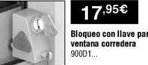 Oferta de Bloqueo de seguridad por 17,95€