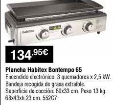 Oferta de Plancha de asar Habitex por 134,95€