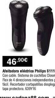 Oferta de Afeitadora Philips por 46,9€