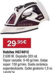 Oferta de Plancha Habitex por 29,95€