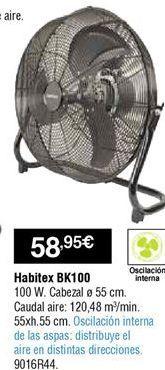 Oferta de Circulador de aire por 58,95€