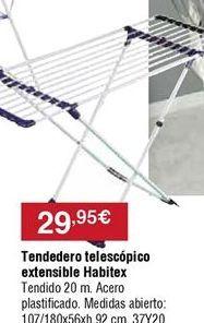 Oferta de Tendedero Habitex por 29,95€