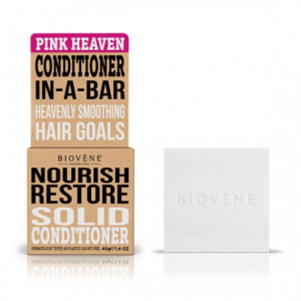 Oferta de Biovene Acondicionador Sólido Pink Heaven por 3,99€