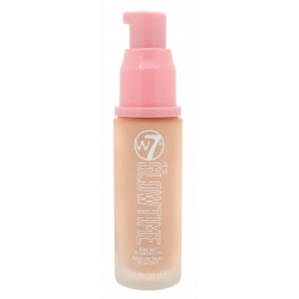 Oferta de W7 Base de maquillaje It's Glow Time Radiant Foundation por 3,5€