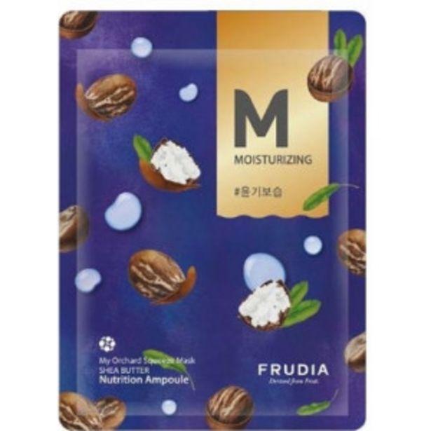 Oferta de Frudia Mascarilla Facial Squeeze Hidratante Manteca de Karité por 1€