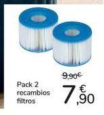 Oferta de Pack 2 recambios fi ltros por 7,9€
