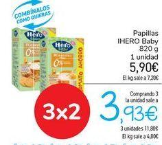 Oferta de Papillas IHERO Baby por 5,9€