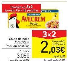 Oferta de Caldo de pollo AVECREM por 3,05€