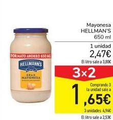 Oferta de Mayonesa HELLMAN'S por 2,47€