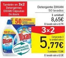 Oferta de Detergentes DIXAN  por 8,65€