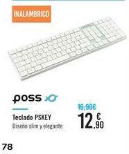 Oferta de Teclado PSKEY Poss  por 12,9€