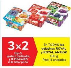 Oferta de En TODAS las gelatinas ROYAL y ROYAL ANTIOX por